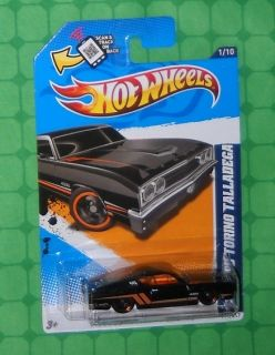 2012 Hot Wheels Muscle Mania Ford 111 69 Ford Torino Talladega