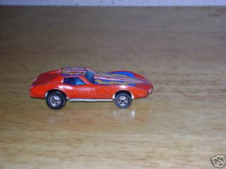 Vintage Hot Wheel Red Corvette Stingray 77 SKU 9241