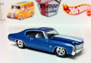 HOT WHEELS 100 Limited Edition 1971 71 CHEVELLE SS 454 Black Box Chevy