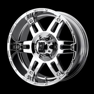 17 WHEELS RIMS XD SPY CHROME WITH 265 70 17 TOYO OPEN COUNTRY MT TIRES