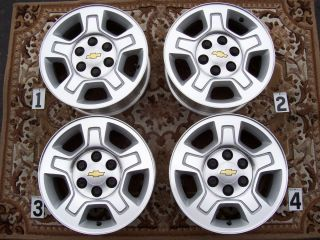 Chevy GMC 1500 Silverado 17 Wheels Rims Stock Factory Tahoe Suburban