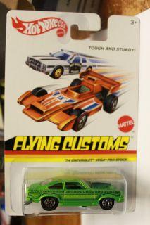 Hot Wheels 2013 Flying Customs 74 Chevrolet Vega Pro Stock Green