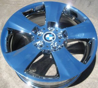 Stock New 18 Factory BMW x3 x5 Chrome Wheels Rims Style 113