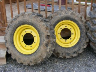 John Deere Tractor Rims and Tires