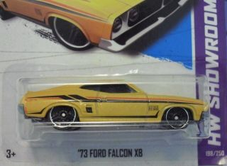Hot Wheels 2013 73 Ford Falcon XB C Case New