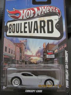 2011 Hot Wheels Boulevard Collection Concept Cars Ford Shelby CR 1 1
