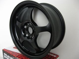 16 inch Subaru Impreza WRX 16x7 Black Rims Wheels 5x100 50mm