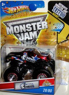 NITRO CIRCUS #28/80 Hot Wheels Monster Jam 2011 TATTO SERIES