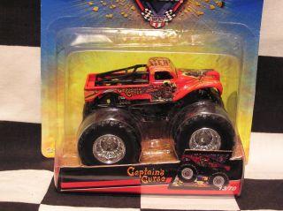 Hot Wheels 13 70 Captains Curse Monster Jam Truck DP