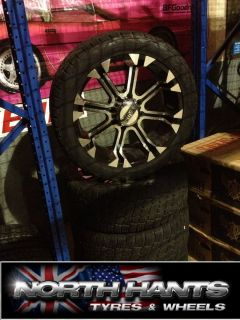 Wheels and Tyres Chevy 8 Stud Hummer H2 Dodge RAM 2500 Used 22 Wheels