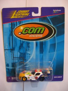 JOHNNY LIGHTNING  RACERS  DIE CAST METAL CAR NASCAR RACING