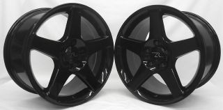 Mustang 03 Replica Cobra Style Wheels 17x9 17x10 5 fits SVT 17 inch