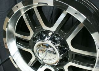 20 ion Wheels Rims Black Escalade Yukon Suburban Tahoe