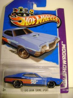 2013 Hot Wheels 242 72 Ford Gran Torino Sport 2013 HW Showroom