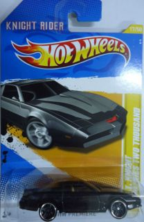 2012 Hot Wheels Premiere Kitt Knight Rider T A Trans Am Lot 4