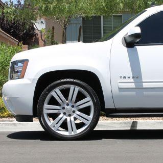 24 Rims Wheels Chevrolet Chevy Truck Silverado 1500 Tahoe GMC Sierra