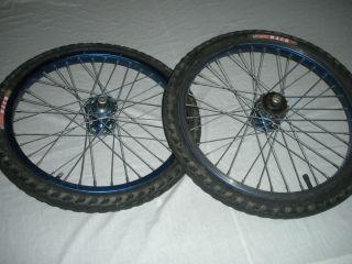 Old School BMX Rims Wheels Araya Suntour 20x1 75