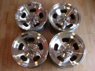 15 x7 5 ET IV Slot Wheels Rims Ansen 5x5 5x4 75 Chevy Olds 5x4 5 Ford