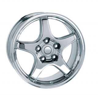 17x9 5 11 84 96 Corvette ZR1 Wheel Tire Rim Chrome