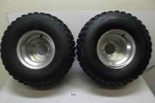 Honda TRX 250R TRX250 TRX250R ATV Rear Tires Wheels 1986 86