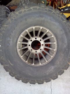Parnelli Jones Dirt Grip Mud Tires and Rims 37x12 5x16 5 8 Lug