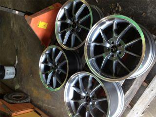 FR500 Wheels 20x8.5 & 20x10 20 inch Deep Dish Mustang ® 2005+ Rims