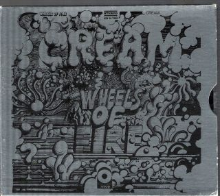 CREAM WHEELS OF FIRE DCC GOLD DOUBLE CD BOX SET WITH SLIPCASE AND ALL