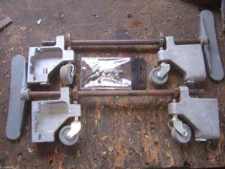 Retractable Retracting Caster Wheels Band Saw Belt Disc Sander