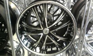 24 Lexani LSS 55 Wheel Tire 2010 Camaro Mustang BMW