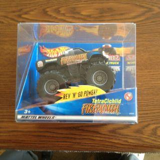 Hot Wheels Monster jam tetracichlid firemouth truck ULTRA RARE rev