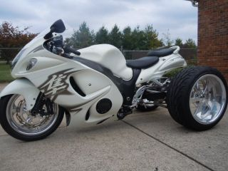 Hayabusa GSXR Complete Custom 3 Wheeler Fat Tire Kit Show Be Different