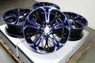 17 Effect Wheels Rims 5 Lugs Acura CL Legend RL RSX TL TSX Civic Kia