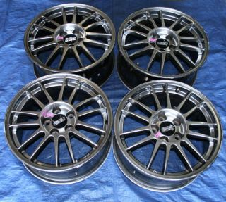 MITSUBISHI LANCER EVOLUTION 9 MR SE 17 BBS OEM RIMS WHEELS EVO9 CT9A