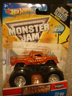 Hot Wheels Originals Monster Jam Truck 2012 Pillage Idiot Free SHIP