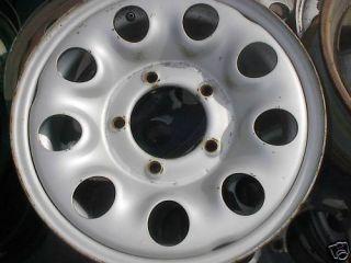 89 90 91 93 94 95 96 97 Sidekick Steel Wheel Rim 15 OE