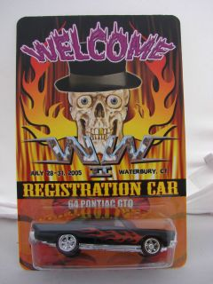 HOT WHEELS WICKED WEEKEND EAST COAST CONVENTION 64 PONTIAC GTO REAL