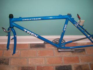 930 Single Track mountain bike frame and wheels hubs Made in e USA