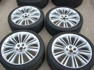 20 Jaguar XJL XJ Kasuga Wheels Tires Rims Dunlop 59864A 59865A