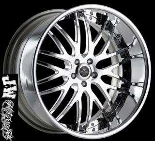 22 inch Savini SV 25 Wheels Mercedes CLS CL S550 SL