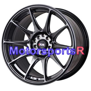 Chromium Black Staggered Rims Wheels Concave 90 95 96 Nissan 300zx TT