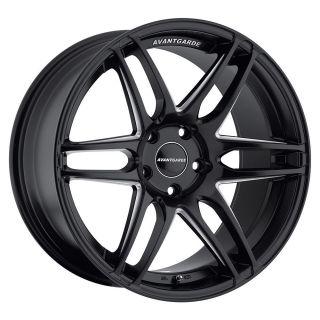 Avant Garde M368 19 Matte Black Wheels Audi A4 S4 RS4 A5 S5 A6 B7 Non