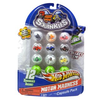 New Squinkies Boys Hot Wheels Series 1
