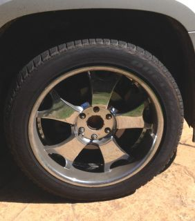 Tahoe Yukon Escalade 22 inch Zenetti Rims Wheels and Tires