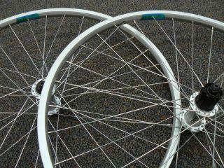 26 Wheelset Deore Hubs Ukai EX 17 Rims Stainless Spokes 32 Hole 8 9