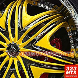 30 Diablo Morpheus Wheels H2 Escalade Yukon Rims Wheels Tires