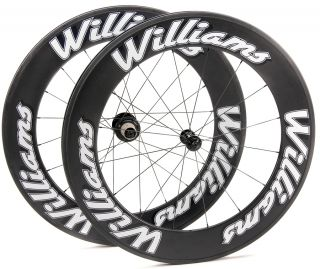 Williams System 85 Carbon Clincher Wheelset Wheels New