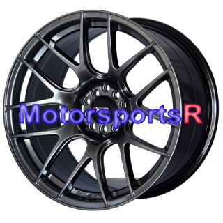 Chromium Black Concave Rims Staggered Wheels 98 99 04 Ford Mustang GT