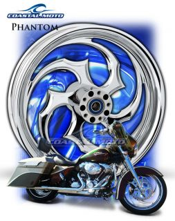 Coastal Moto Phantom M109R Chrome Motorcycle Wheels PM