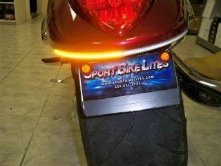 Suzuki Boulevard M109 LED Fender Eliminator Integrated Turn Signal