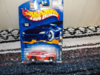 2002 Hot Wheels 35th Anniversary Chevy Nomad Redline 106